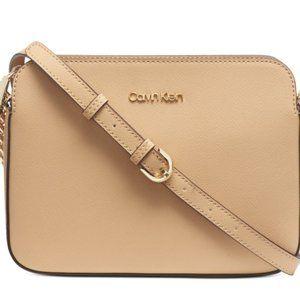 Calvin Klein Hayden Leather Camera Bag